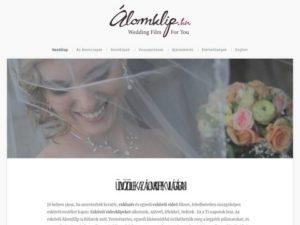 Esküvői szolgáltató: ÁlomKlip.hu – Esküvői Film Nektek.