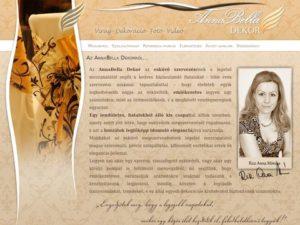 Esküvői szolgáltató: Anna Bella Dekor