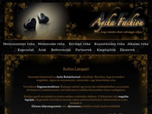 Esküvői szolgáltató: Aysha Fashion
