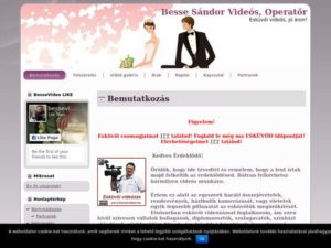 Esküvői szolgáltató: Besse Sándor Esküvői Videó