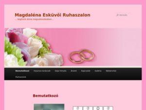 Esküvői szolgáltató: Magdaléna Menyasszonyi Ruhaszalon