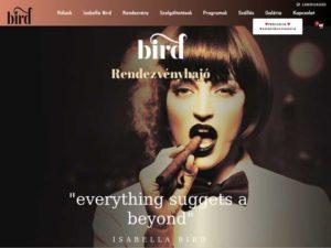 Esküvői szolgáltató: Bird Rendezvényhajó
