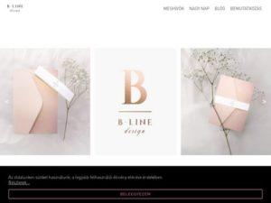 Esküvői szolgáltató: B-Line design