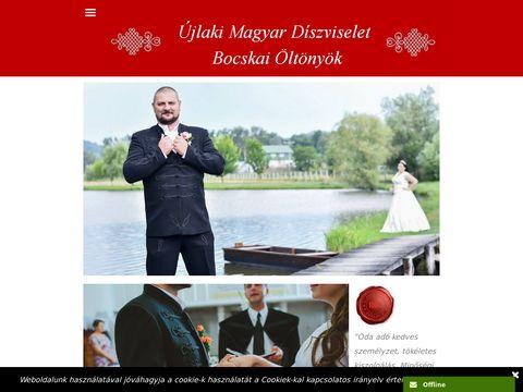 Esküvői szolgáltató: www.bocskaioltonyok.hu