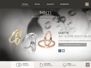 Esküvői szolgáltató: Bojti Ékszer Jegygyűrű