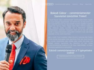 Esküvői szolgáltató: Bokodi Gábor Ceremóniamester