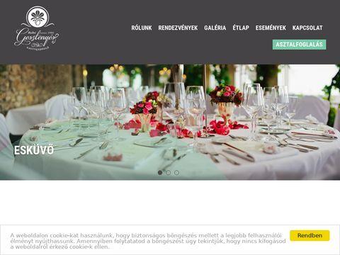 Esküvői szolgáltató: Gesztenyés Kert