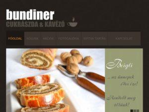 Esküvői szolgáltató: Bundiner Cukrászda