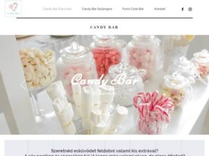 Esküvői szolgáltató: Candy Bar