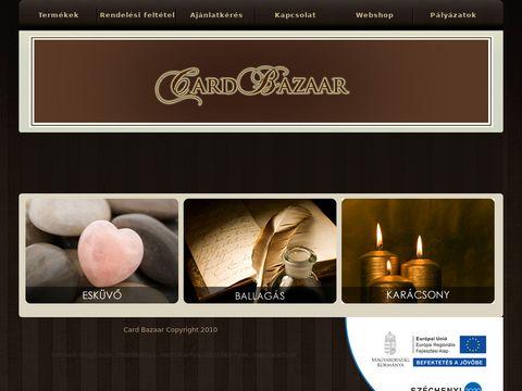 Esküvői szolgáltató: Card Bazaar