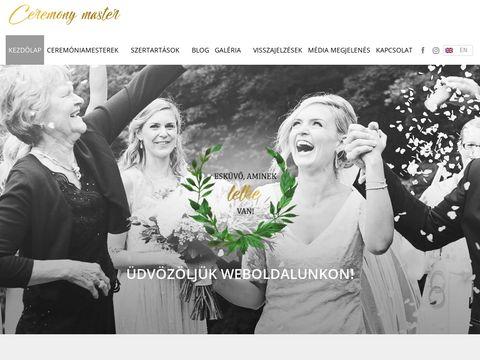 Esküvői szolgáltató: Bánhegyi Barbara