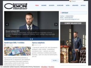 Esküvői szolgáltató: Clemont Férfidivat