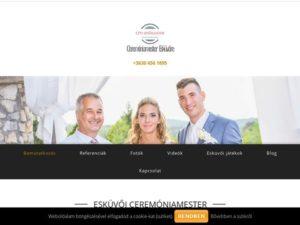 Esküvői szolgáltató: Bánhegyi Zsolt ceremóniamester