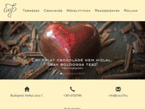 Esküvői szolgáltató: Coco7 cukrászda és csokizó