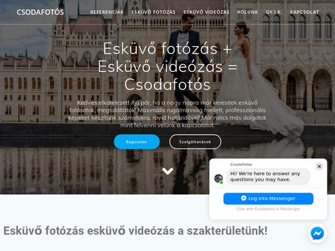 Esküvői szolgáltató: Csodafotós