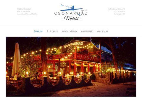 Esküvői szolgáltató: Csónakház