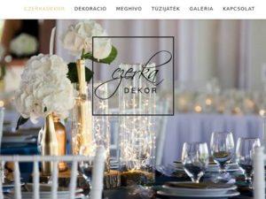 Esküvői szolgáltató: Czerka Dekor