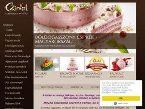 Esküvői szolgáltató: Cziniel Cukrászda