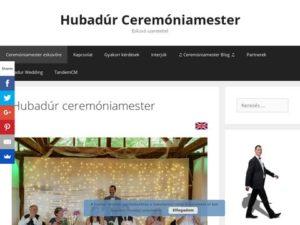 Esküvői szolgáltató: Hubadúr ceremóniamester