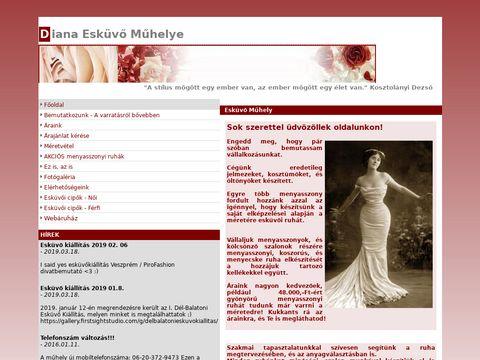 Esküvői szolgáltató: Diana Esküvő Műhelye