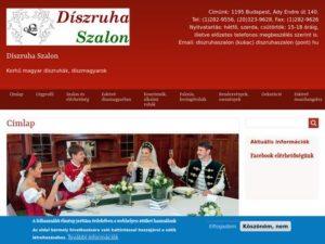 Esküvői szolgáltató: Díszruha Szalon