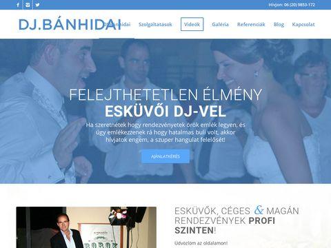 Esküvői szolgáltató: Esküvői DJ. Bánhidai Attila