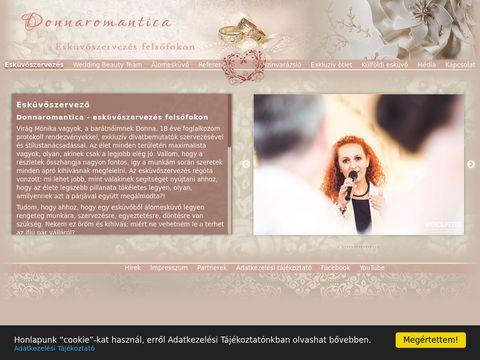Esküvői szolgáltató: Donna Romantica