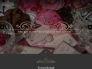 Esküvői szolgáltató: Dream flowers esküvői meghívók