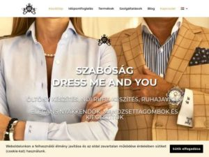Esküvői szolgáltató: Dress Me and You Szabóság