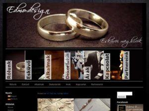 Esküvői szolgáltató: Edmo Design