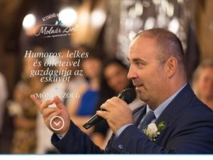 Esküvői szolgáltató: Molnár Zsolt Vőfély