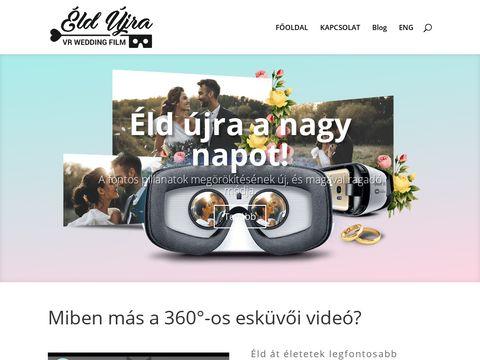 Esküvői szolgáltató: ÉldÚjra! 360°-os esküvői videók