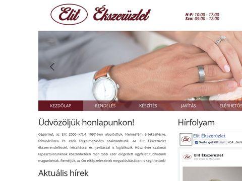 Esküvői szolgáltató: Elit Ékszerüzlet