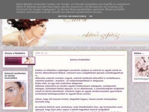 Esküvői szolgáltató: Emese Esküvői Szépítész