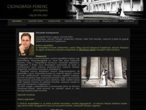 Esküvői szolgáltató: Csongrádi Ferenc Fényképész
