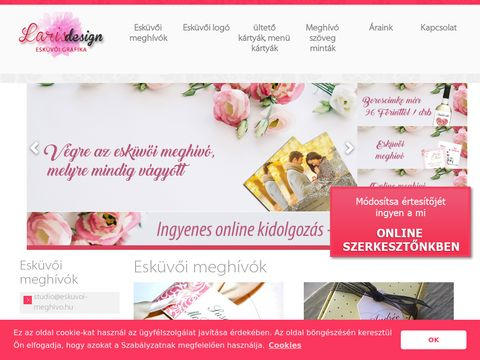 Esküvői szolgáltató: LarisDesign