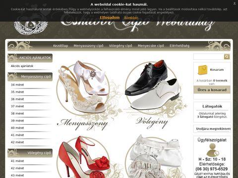 Esküvői szolgáltató: Esküvői Cipő Webáruház