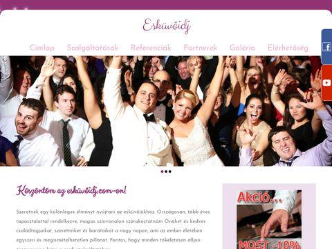 Esküvői szolgáltató: Varga Tamás Esküvői DJ