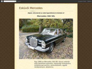 Esküvői szolgáltató: Esküvői Mercedes
