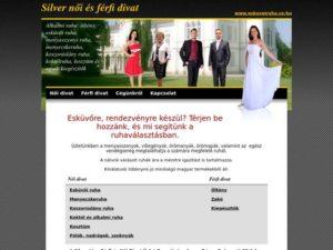 Esküvői szolgáltató: Silver Női és Férfi Divat