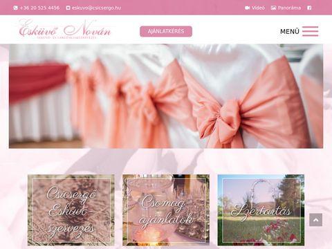 Esküvői szolgáltató: Esküvő Nován