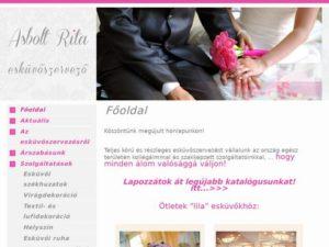 Esküvői szolgáltató: Asbolt Rita Esküvőszervezés