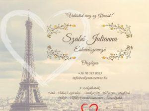 Esküvői szolgáltató: Szabó Julianna