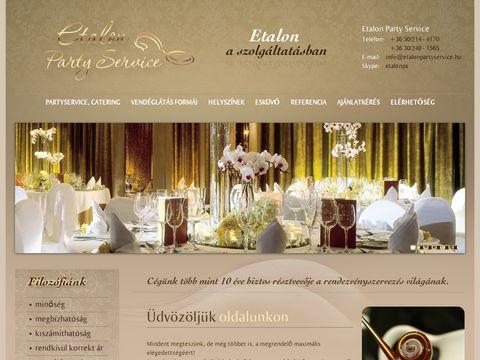 Esküvői szolgáltató: Etalon Party Service