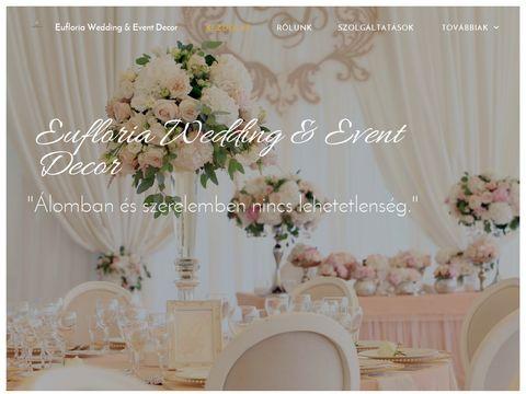 Esküvői szolgáltató: Eufloria Wedding & Event Decor