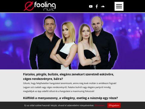 Esküvői szolgáltató: Feeling Együttes
