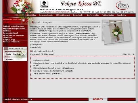 Esküvői szolgáltató: Fekete Rózsa Virágüzlet Kika