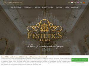 Esküvői szolgáltató: Festetics Palota