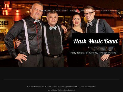 Esküvői szolgáltató: Flash Music Band