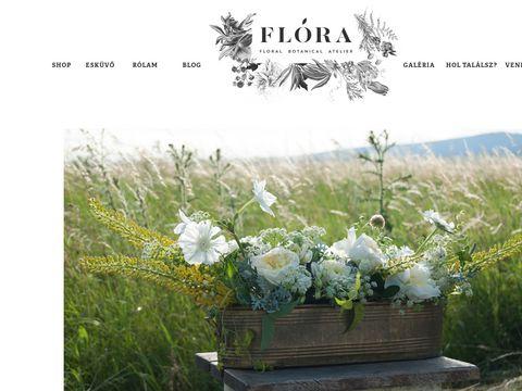 Esküvői szolgáltató: Flóra Virágboltja